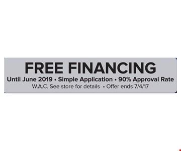 Free Financing