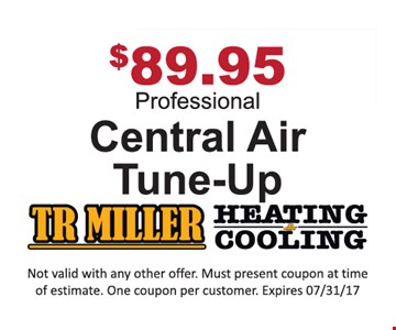 $89.95 central air tune-up