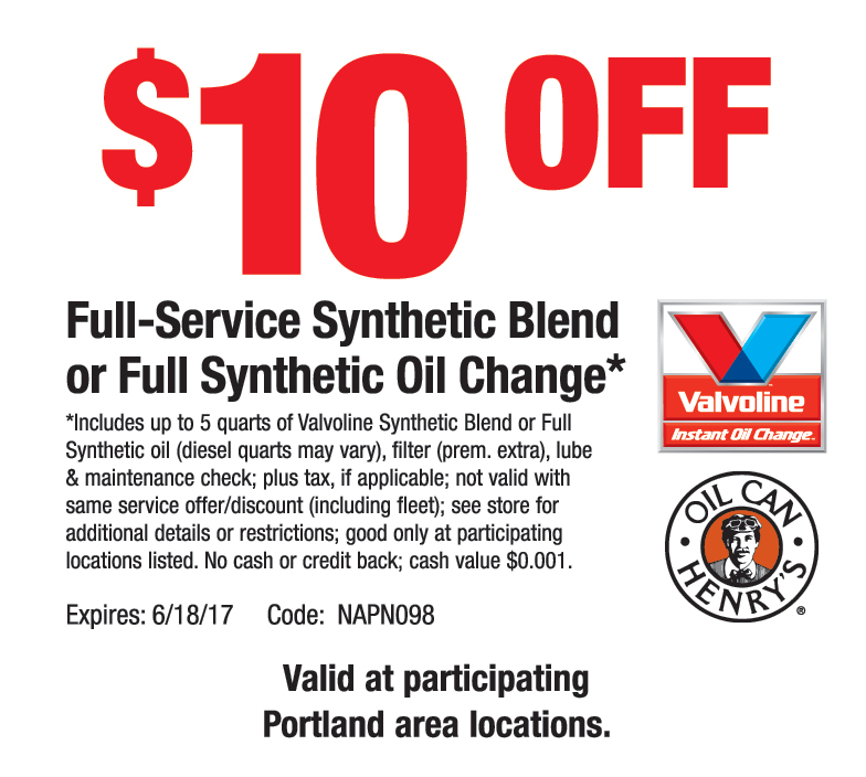 graphic about Valvoline Instant Oil Change Coupons Printable called Valvoline oil difference coupon $10 / Freecharge coupon code