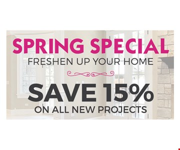 Save 15% on all new products