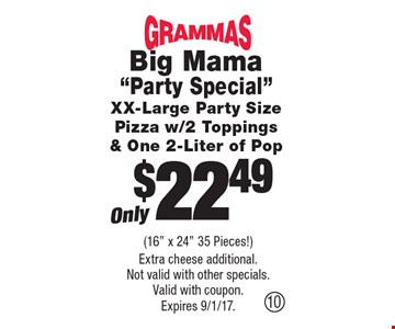 Only$22.49 Big Mama