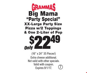 Only $22.49 Big Mama