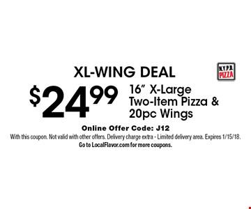 XL-WING DEAL $24.99 - 16