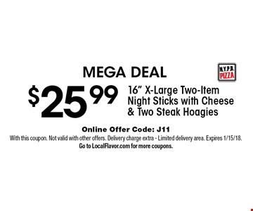 MEGA DEAL $25.99 - 16