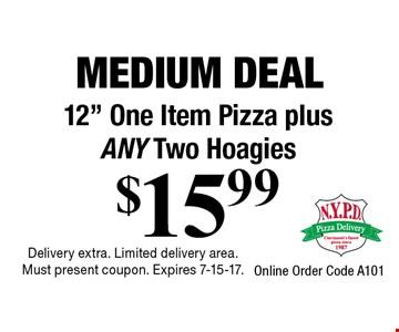 Medium Deal $15.99 12
