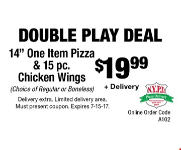 Double Play Deal $19.99 + Delivery 14