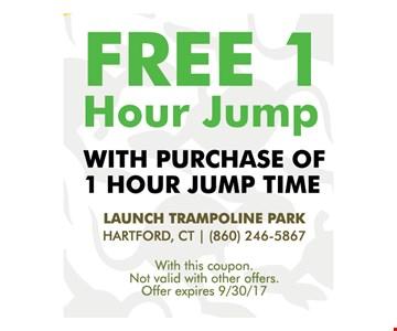 Free 1 hour jump
