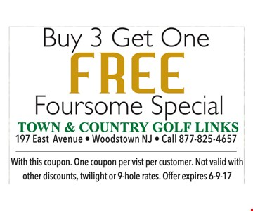 buy 3 get one free
