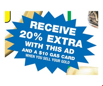Receive 20% Extra With This Ad