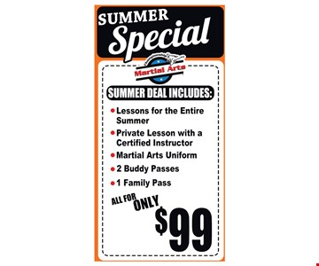 Summer Special All For Only $99.