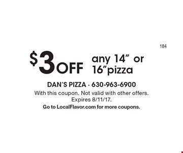 $3 Off any 14
