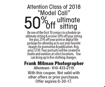 Attention Class of 2018
