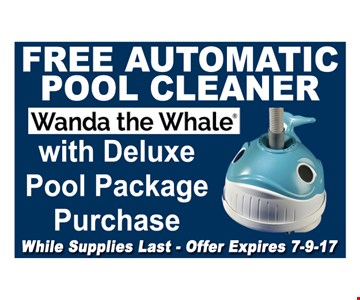 Free automatic pool cleaner