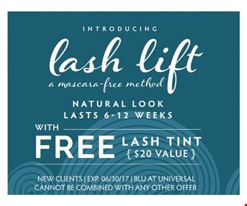 Lush lift a mascara free method  with Free Lash tint ( $20 value )