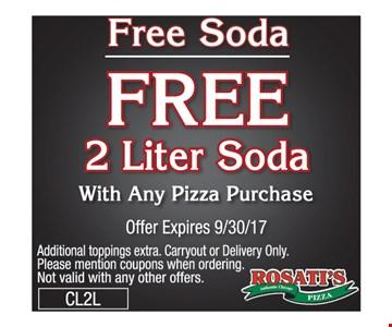 Free soda 2 liter soda