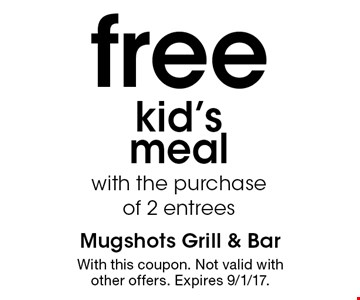 free kid's meal with the purchase
