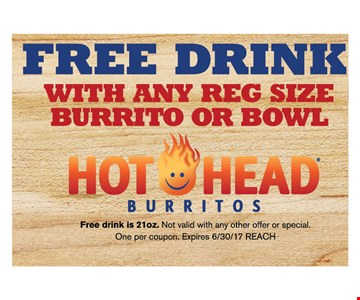 Free drink