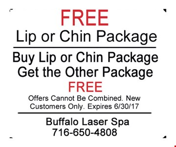 Free Lip or Chin Package