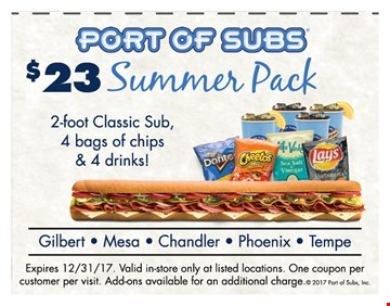 Portofsubs com coupon code