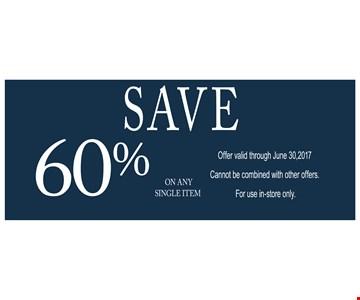 Save 60%