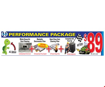 Performance Package $89