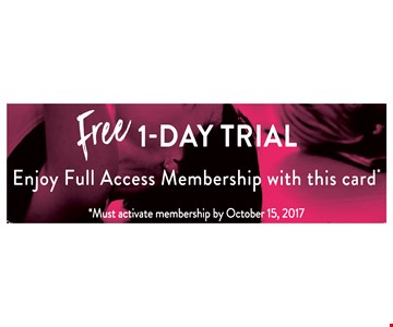 Free 1 day trial