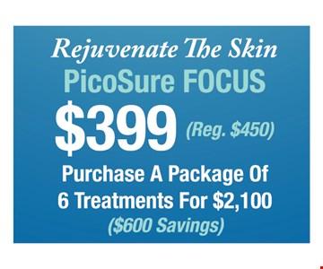 $399 PicoSure Focus