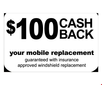 $100 cash back mobile replacement