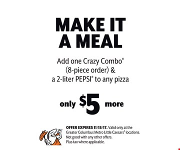 Make it a meal $5