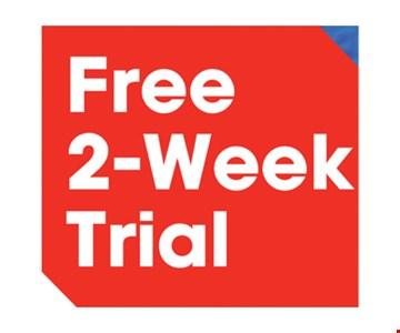 Free 2-Week Trial