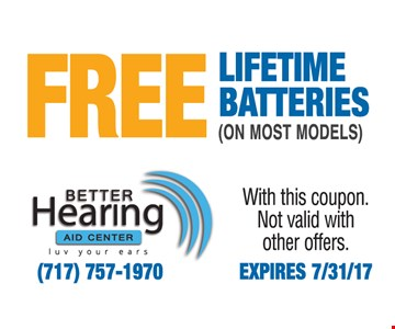 Free lifetime batteries