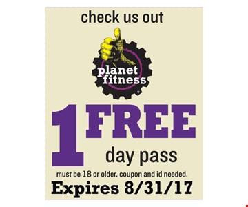 1 Free Day Pass