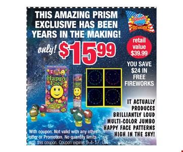 amazing prism $15.99