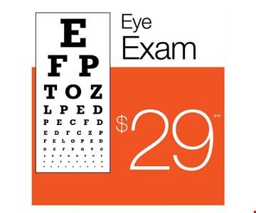 $29 Eye Exam