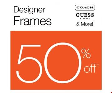 Designer Frames $50 Off