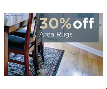 30% OFF Area Rugs