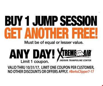 Free jump session