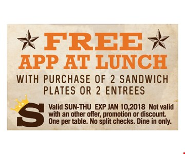 Free App at Lunch