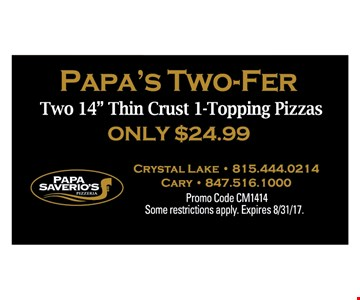 papa's two-Fer two 14