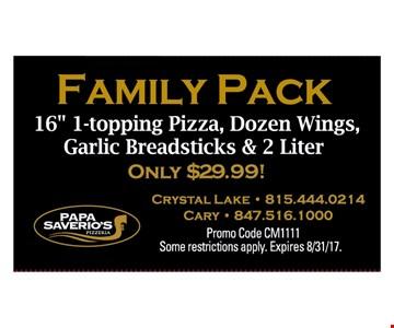 Family Pack 16