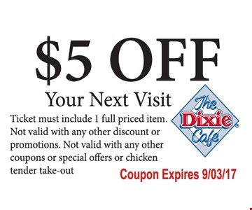 $5 Off Your Next Visit