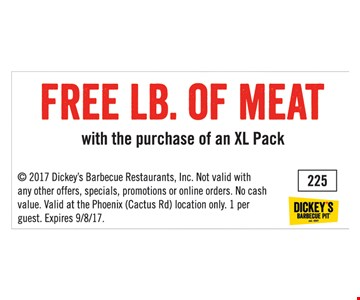 Free lb of meat