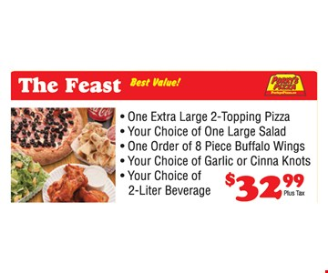 The Feast for $32.99.