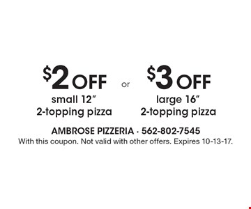 $2 Off small 12