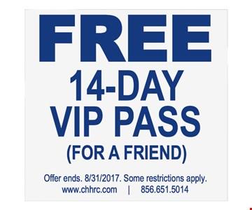 free 14 day VIP pass