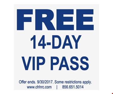 Free 14- Day VIP Pass