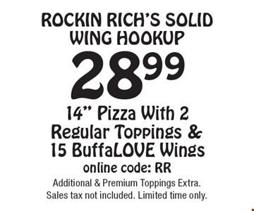 Rockin Rich's Solid Wing HookUp 28.99 14