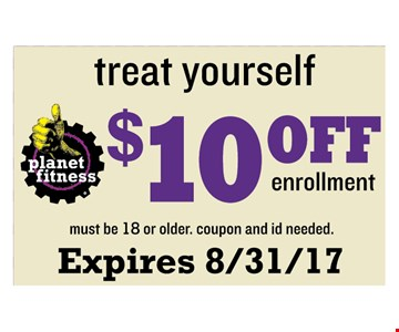 $10 off enrollment