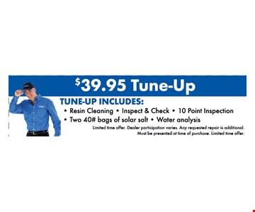$39.95 Tune-Up