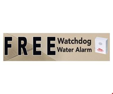 Free watchdog water alarm.